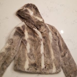 Faux fur Couture Jacket